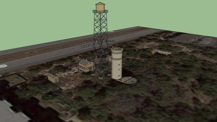 Fort Miles Coast Artillery Fire Control Tower 02