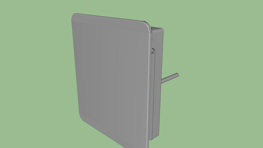 DOCOL - Acabamento para válvula de descarga Docol Flat