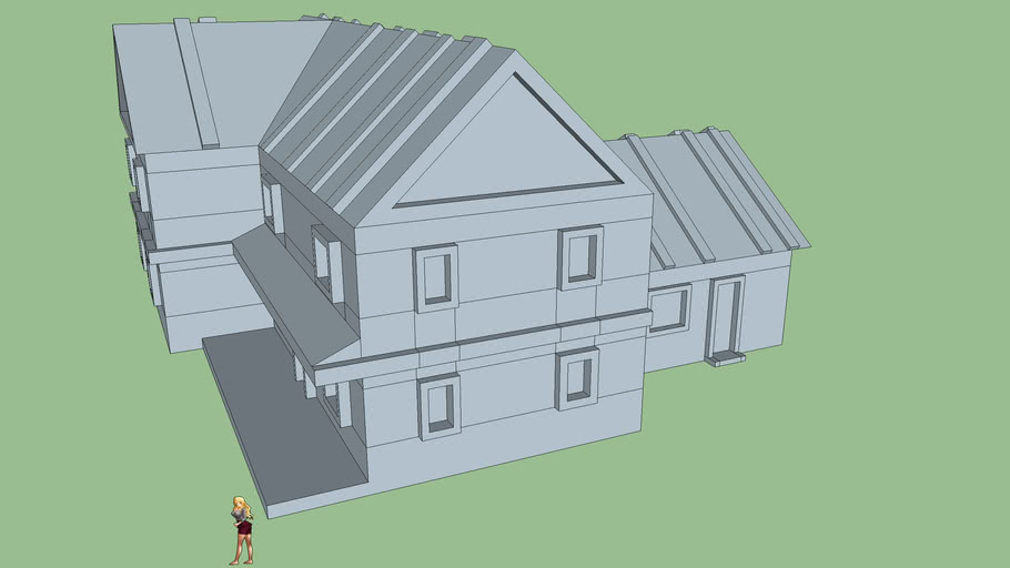 Ed Gein House (for 1/700 printing)