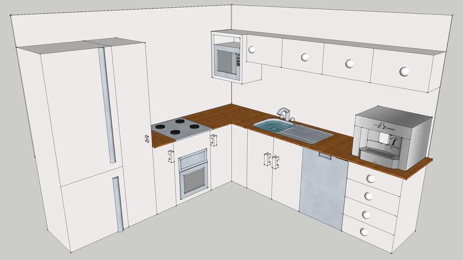 Modern Style Kitchen.