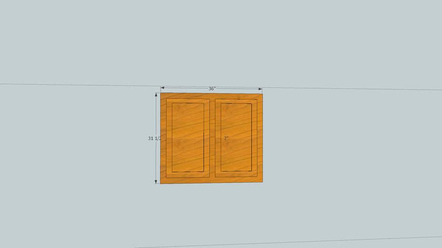 Kitchen Cabinet Face Frame & Doors
