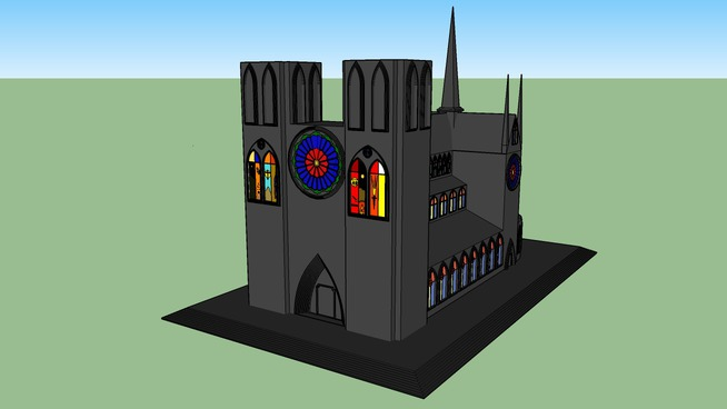 Lonestar Gothic cathedral