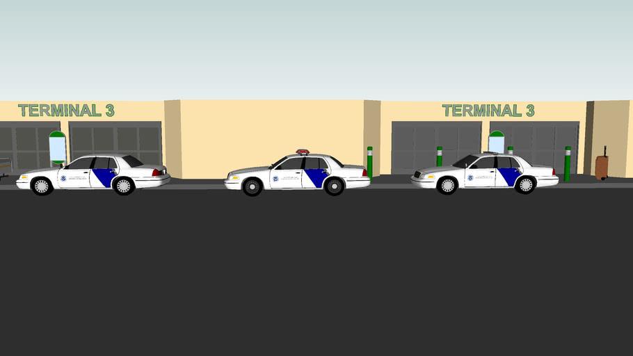 Ford Crown Victoria Police Interceptors