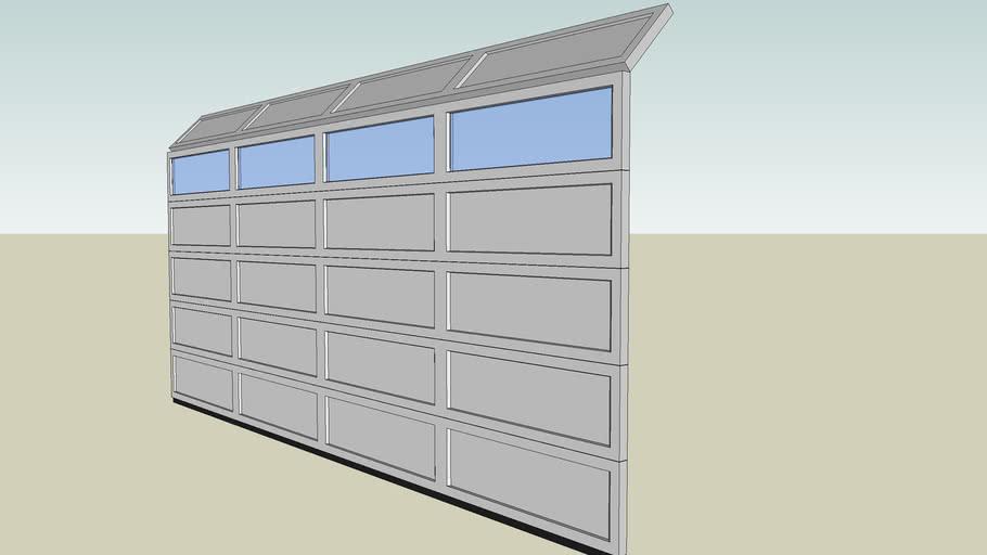 16070 Overhead Sectional Roll-up Garage Door