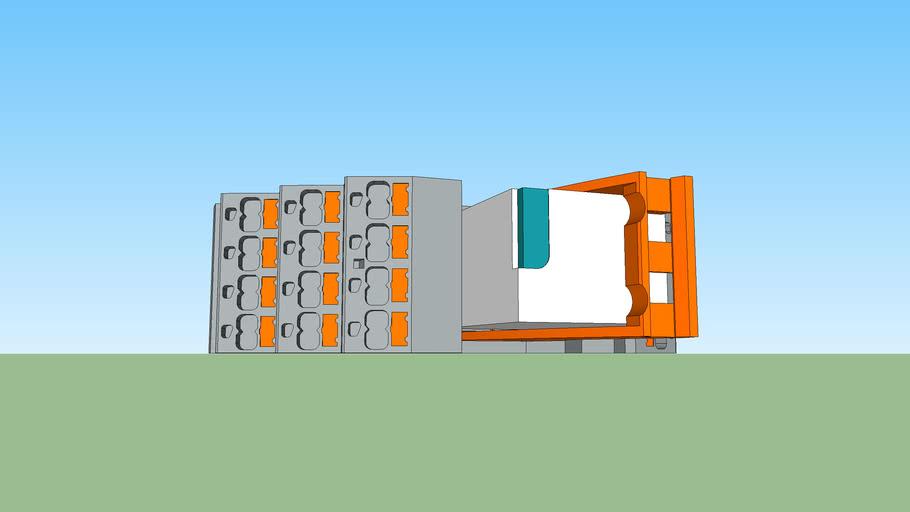 Phoenix Contact - RIF-2-RPT-LDP-24DC/4X21 - 24VDC - 4PDT - Push-In Relay Module (2903308)