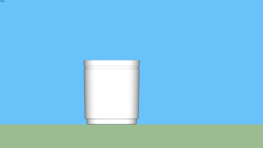 Pot rond grande taille HORIZON pour plante 94 cm _Poétic