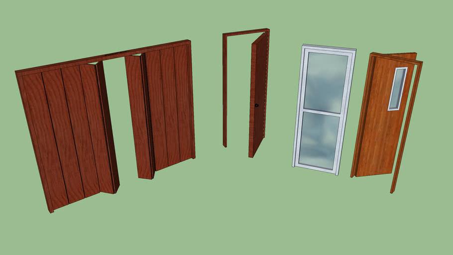 Set de puertas