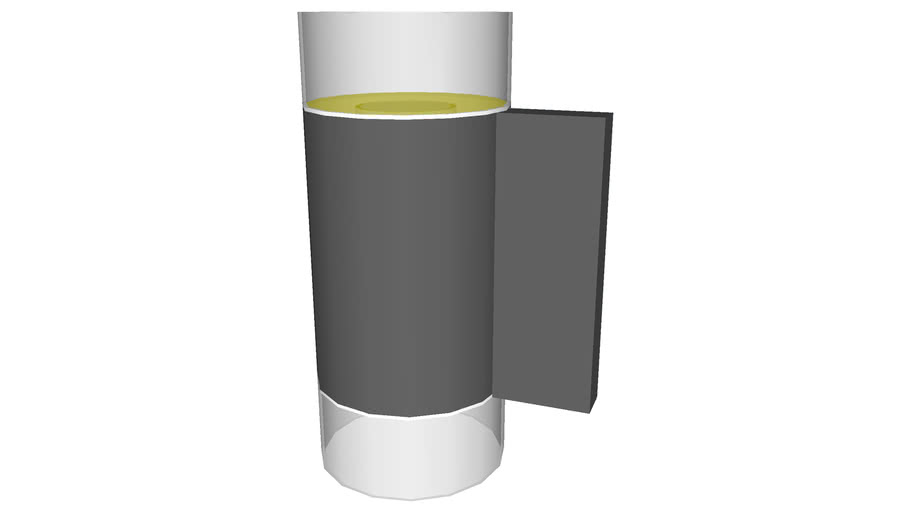 Cylinder Sconce Wall Light - Detailed