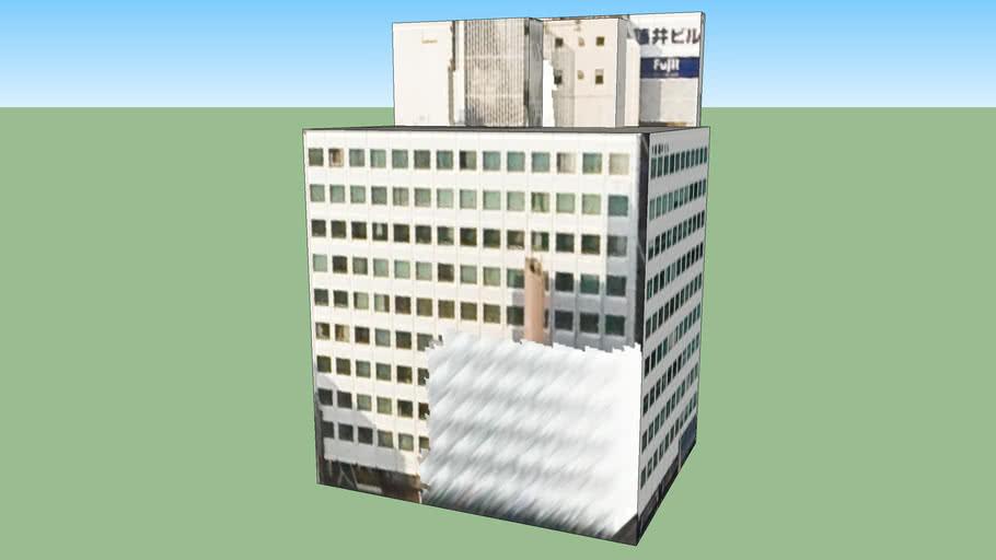 日本, 北海道札幌市中央區的建筑模型