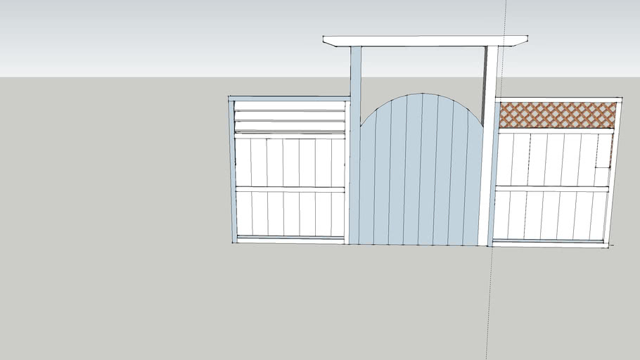 Louvered fence and gate panels
