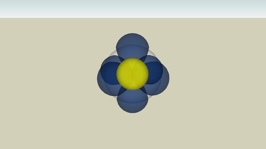 Orbitalmodell vom Kohlenstoff