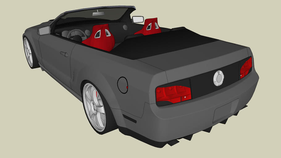 2007 Shelby GT500 Convertible (Tuned)