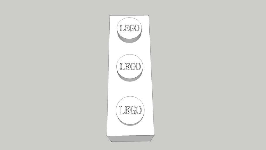 1x3 LEGO BRICK