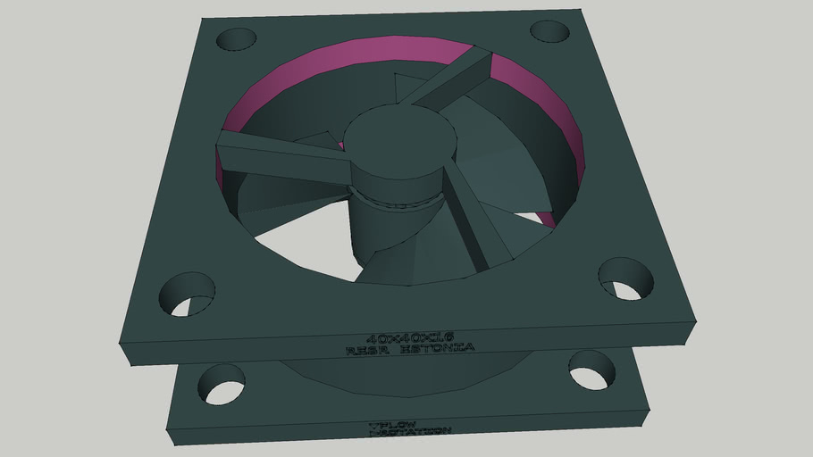 Brushless Fan 40X40X16