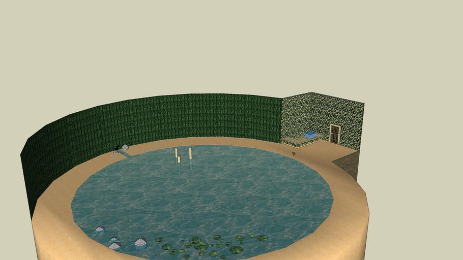 the fishing pond in zelda