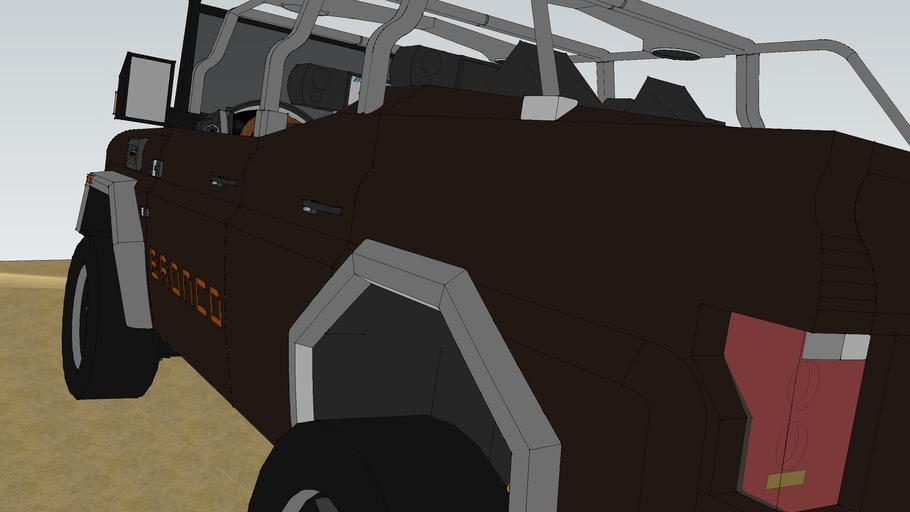 Ford Bronco 3 Concept car