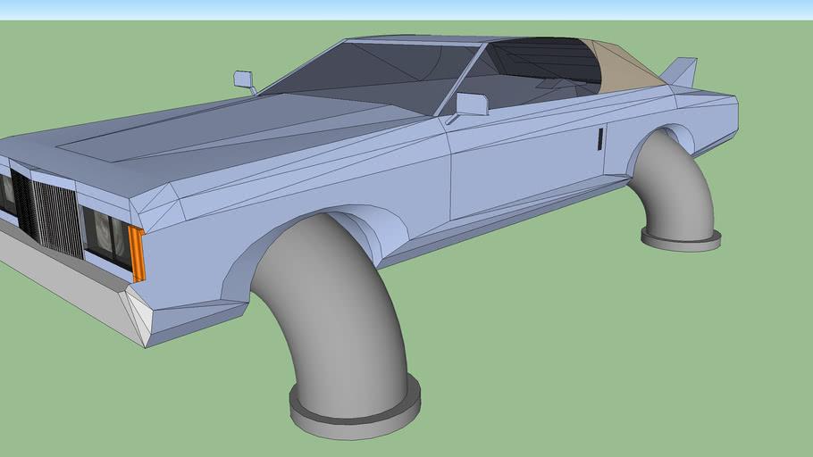 Retro Hovercar