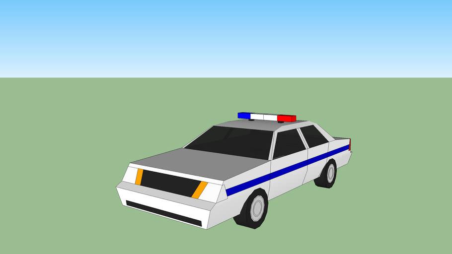 Police Car(SKETCHYPHYSICS)