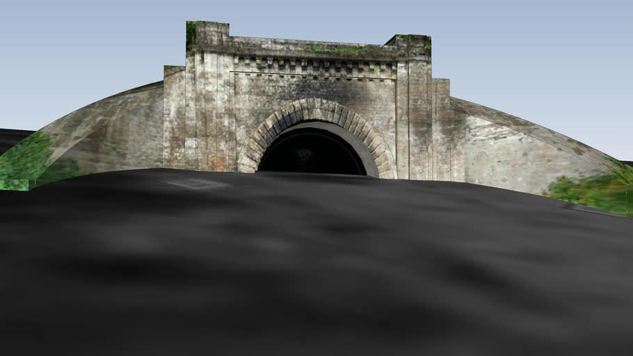 Panerių tunelis, Rytų pusė. v1.0