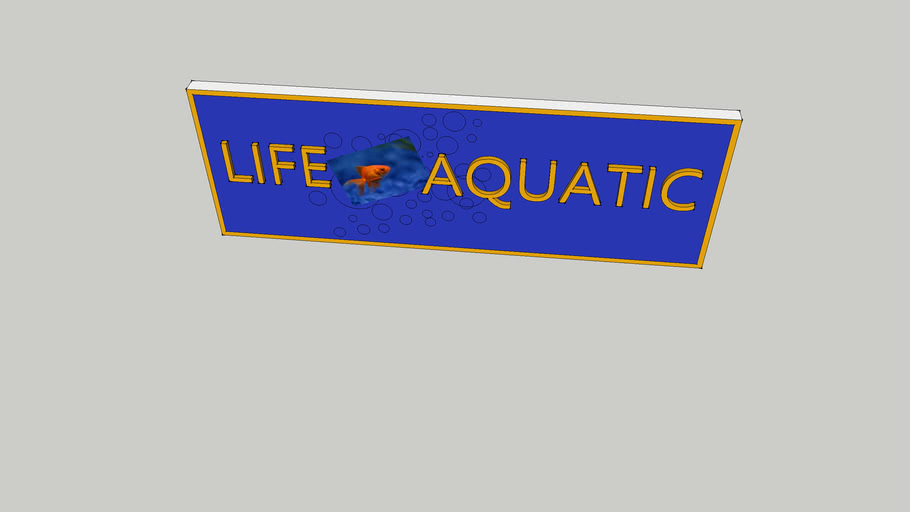 Mackenzies, Life Aquatic, and Bruegger's Bagels signs