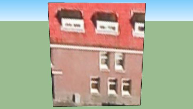 Budynek przy Rotterdam, Holandia