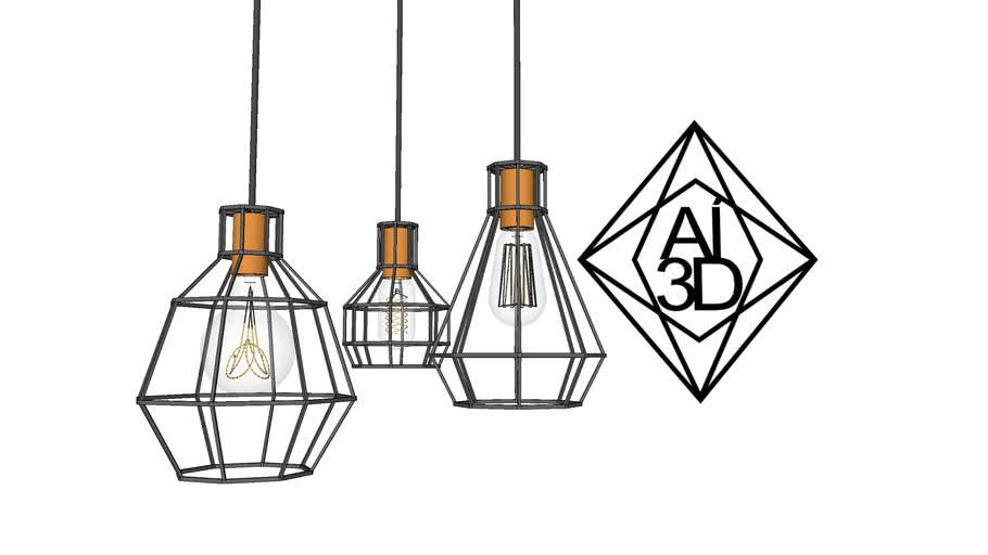 luminaria AI3D- TRIO GRID
