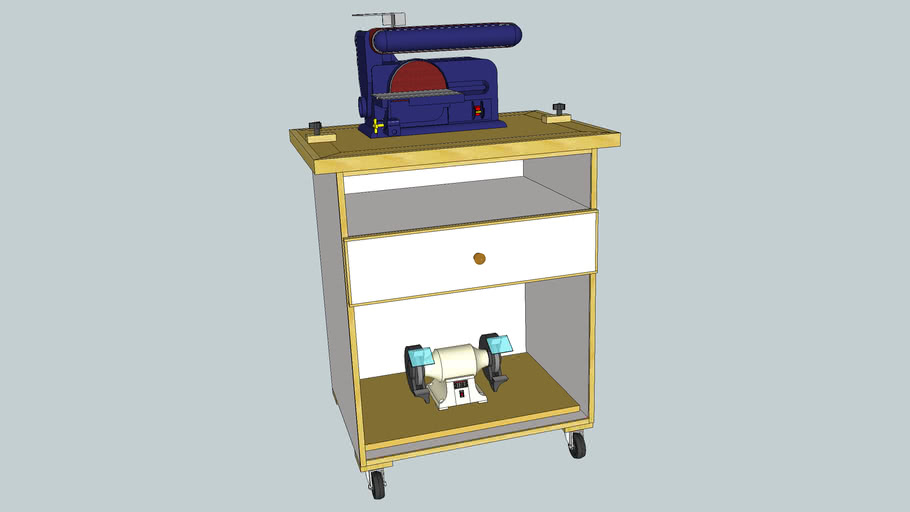Multifunction Power Tool Cabinet