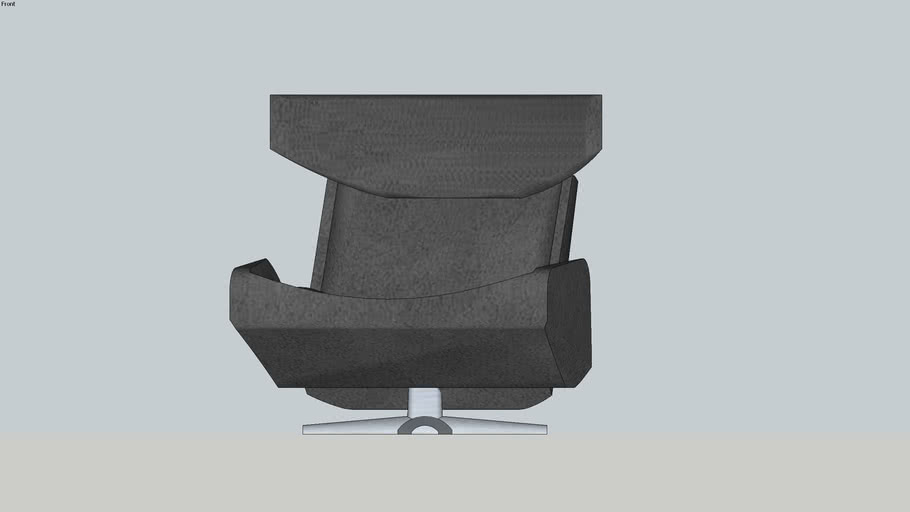 Modern Wingback Chair