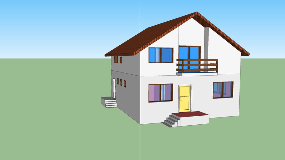 3d model zgrade