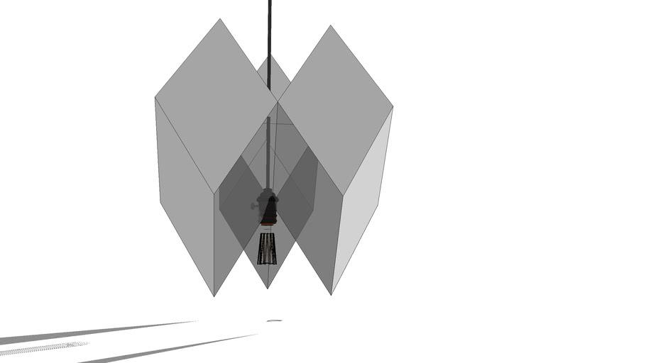 Carton lamp 11