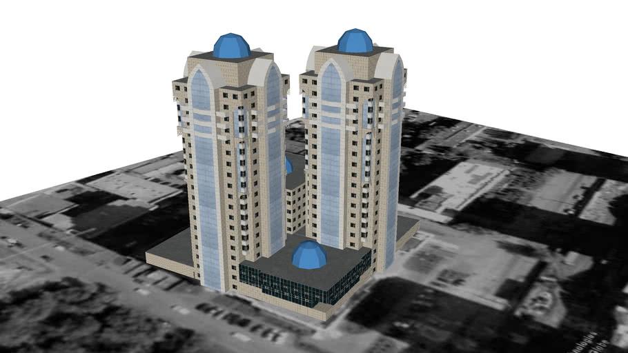 Residential Towers on Kenesary Street