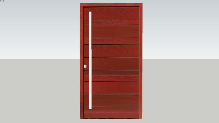 PORTE D'ENTRÉE NATIV 3 Red Cedar