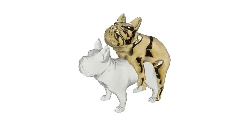 64626 Deco Figurine Love Dogs