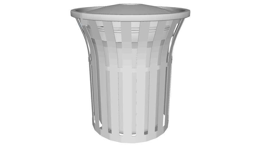 Rendezvous 32 Gallon Recycler, Bold Recycler Top