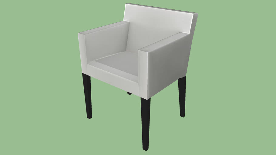 Ikea Nils Chair Low Poly Warehouse