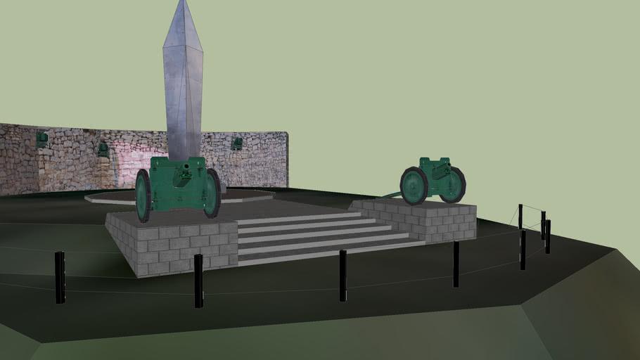 Монумент «Бирянам, погибшим в годы Гражданской войны».