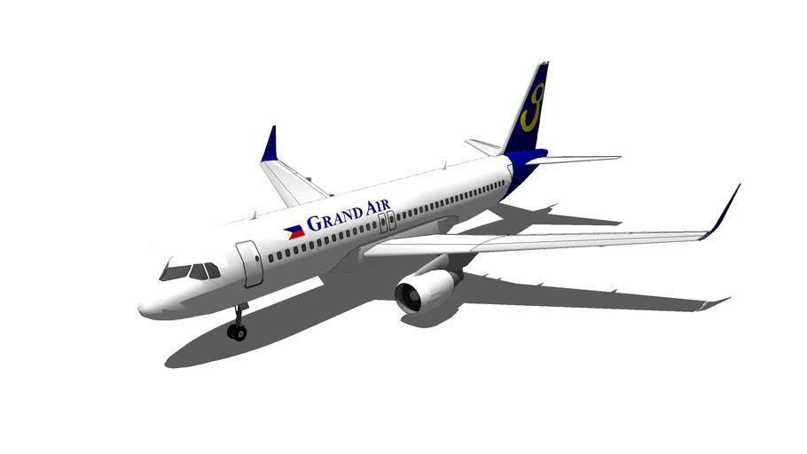 GrandAir Airbus A320-200 Sharklets CONCEPT