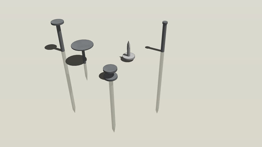 model with Dynamic nail component
