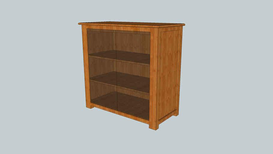 Glass Components Cabinet by Woodworking OC