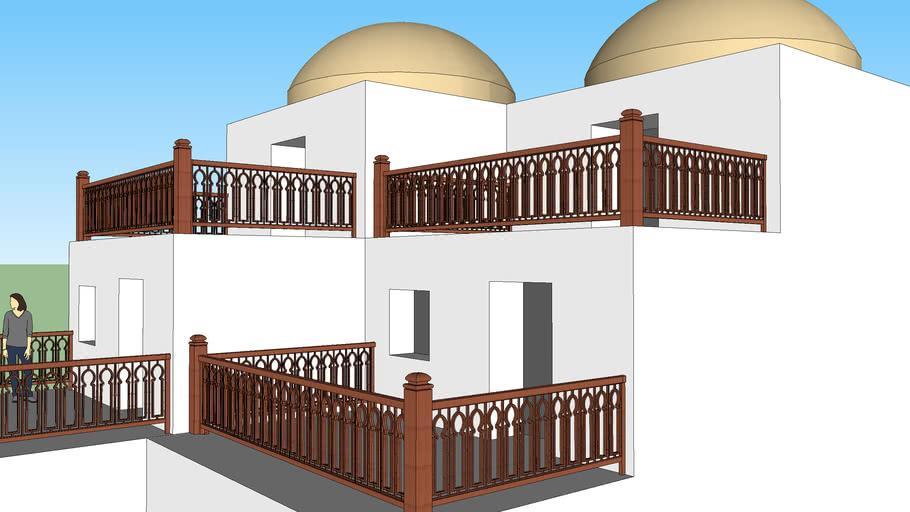 Islamic-Mamlouck style  railling