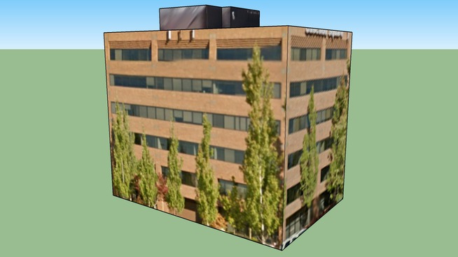 Cascade Square Office Building in Beaverton, OR, USA