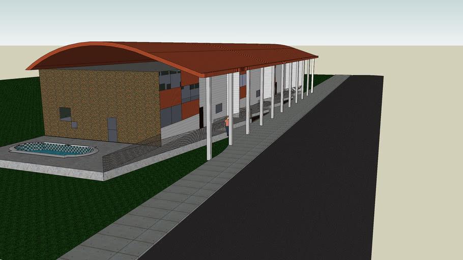aprtment complex exterior