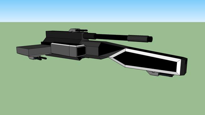 UND Matriarch Class BattleCrusier W/ Gauss Cannon