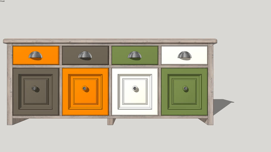 chest of drawers, commode, bureau. комод