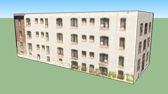 Apartment Building in Minneapolis, MN, USA