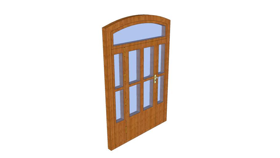 puerta de casa