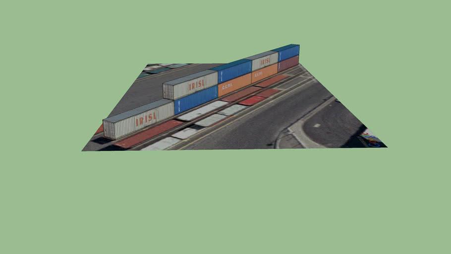 40´´ Container, Eurokai Hamburg