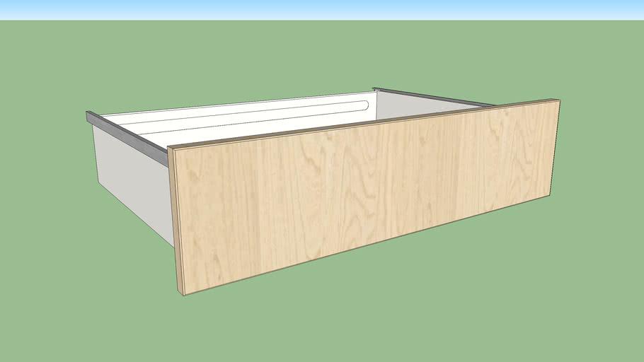 IKEA SKROVA drawer 80x55