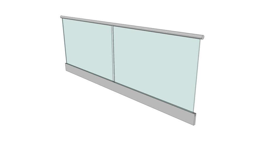Simple Glass Railing