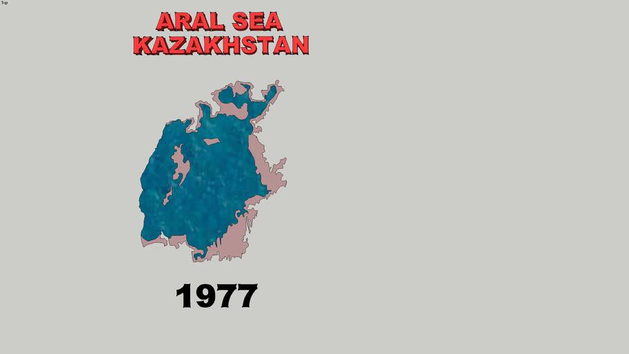 Aral Sea 1957 - 2007